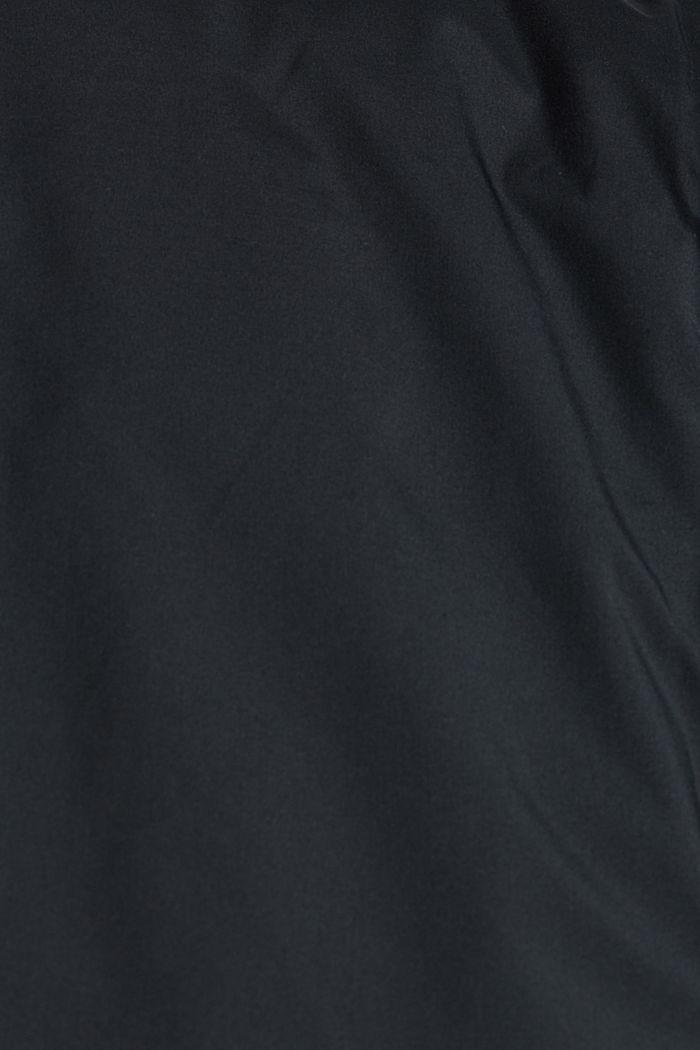 En matière recyclée: le gilet matelassé garni de duvet, BLACK, detail image number 4