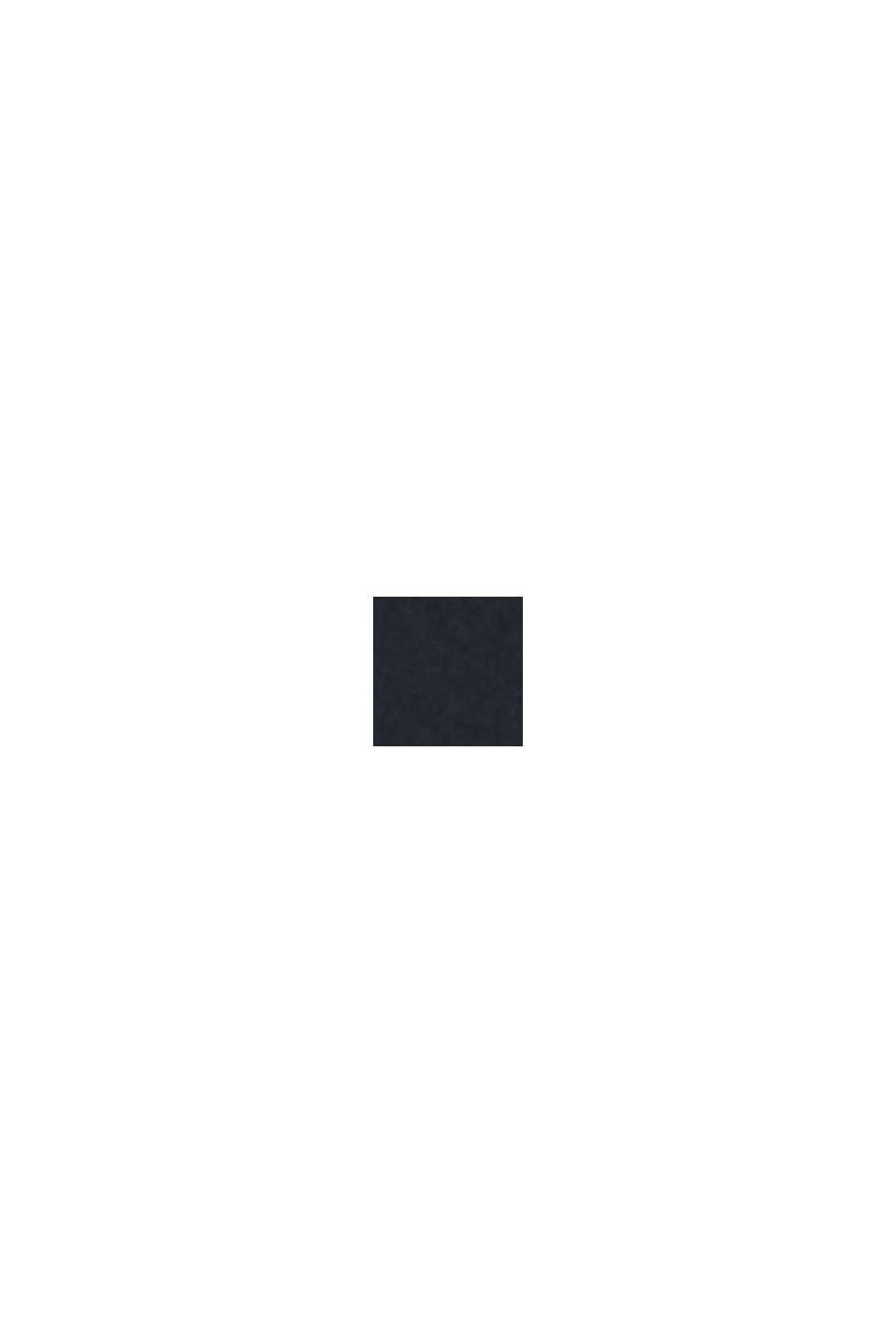 Z recyklingu: pikowana kamizelka z puchowym wypełnieniem, BLACK, swatch