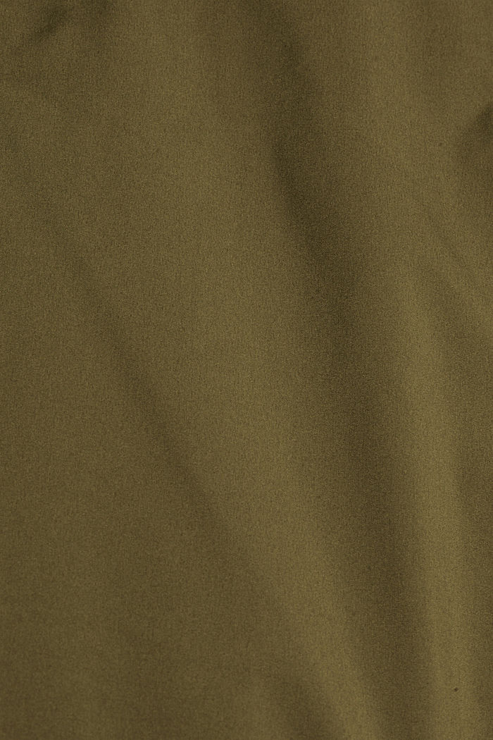 Recycelt: Steppweste mit Daunenfüllung, LIGHT KHAKI, detail image number 5