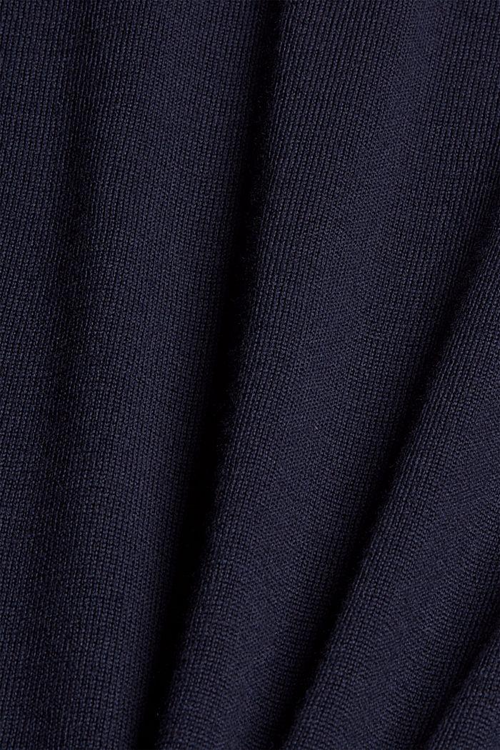 Responsible Wool: Pullover aus RWS Wolle, NAVY, detail image number 4