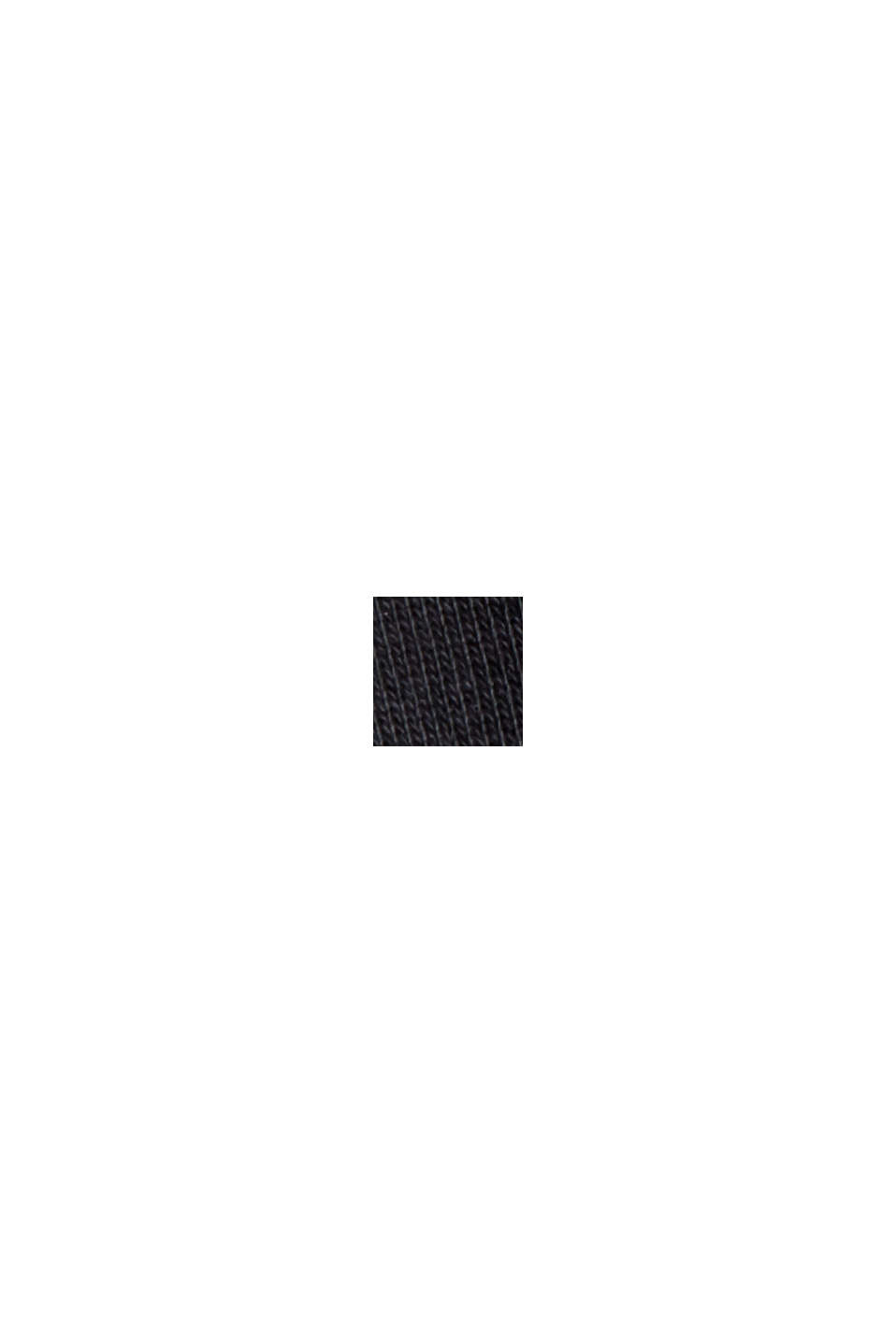 Sweat-shirt en coton mélangé à teneur en TENCEL™, BLACK, swatch
