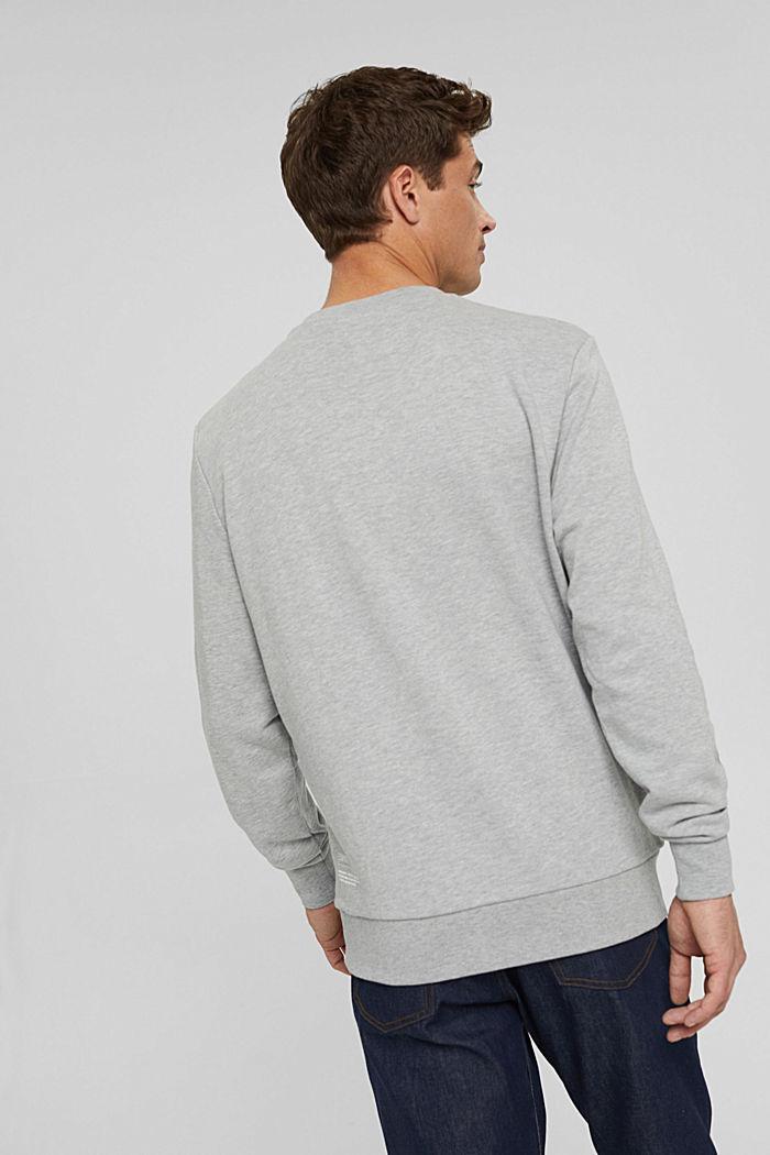 Sweatshirt van een katoenmix met TENCEL™, LIGHT GREY, detail image number 3