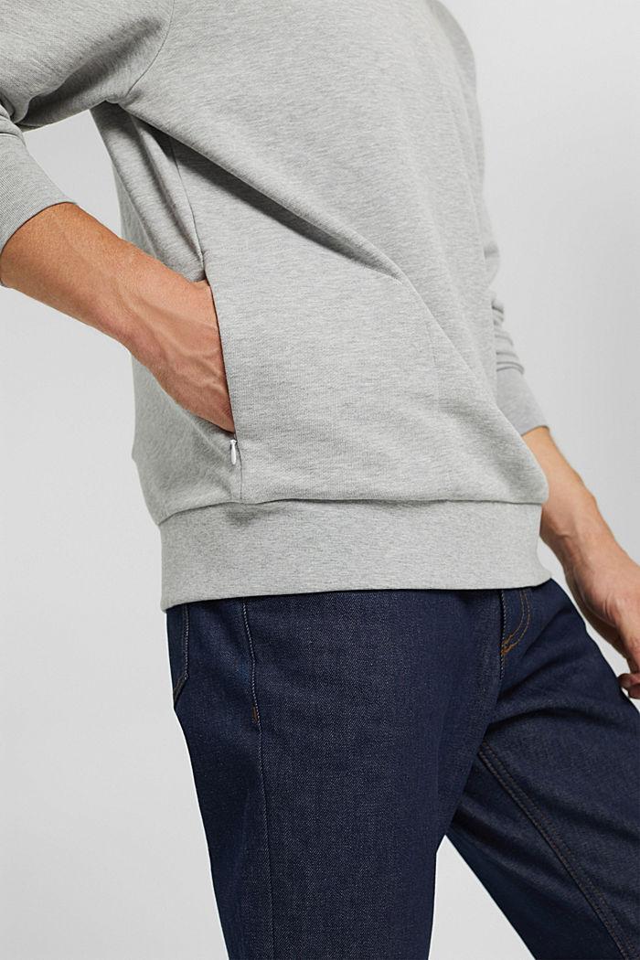 Sweatshirt van een katoenmix met TENCEL™, LIGHT GREY, detail image number 2