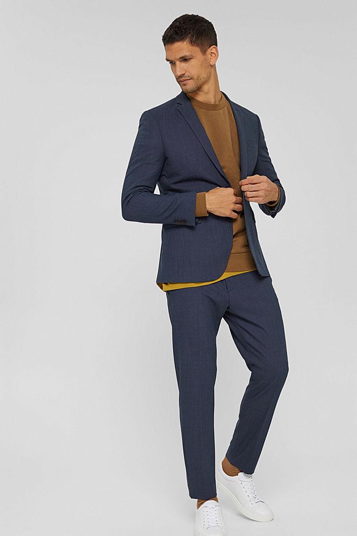 Sweat-shirt en coton mélangé à teneur en TENCEL™, BARK, detail image number 1