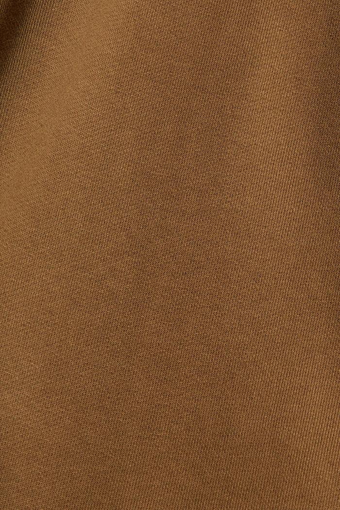 Sweat-shirt en coton mélangé à teneur en TENCEL™, BARK, detail image number 5