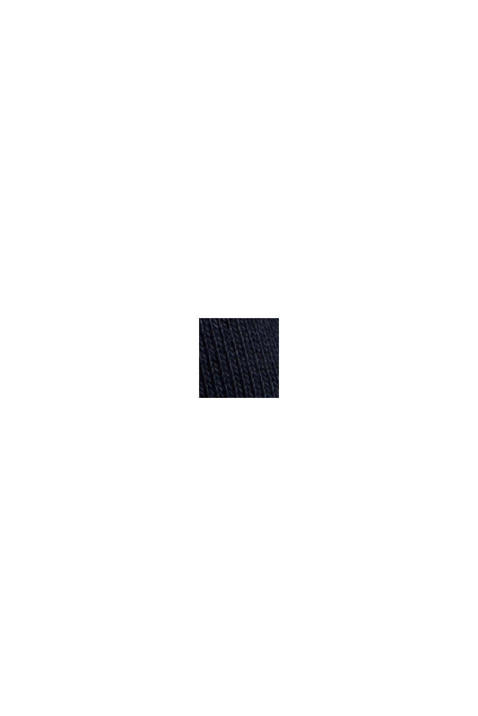 Sweat-shirt en coton mélangé à teneur en TENCEL™, NAVY, swatch