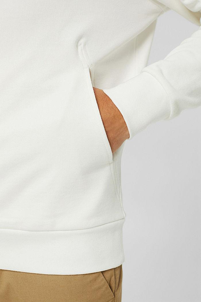 Sweat-Hoodie aus Baumwoll-Mix mit TENCEL™, OFF WHITE, detail image number 2