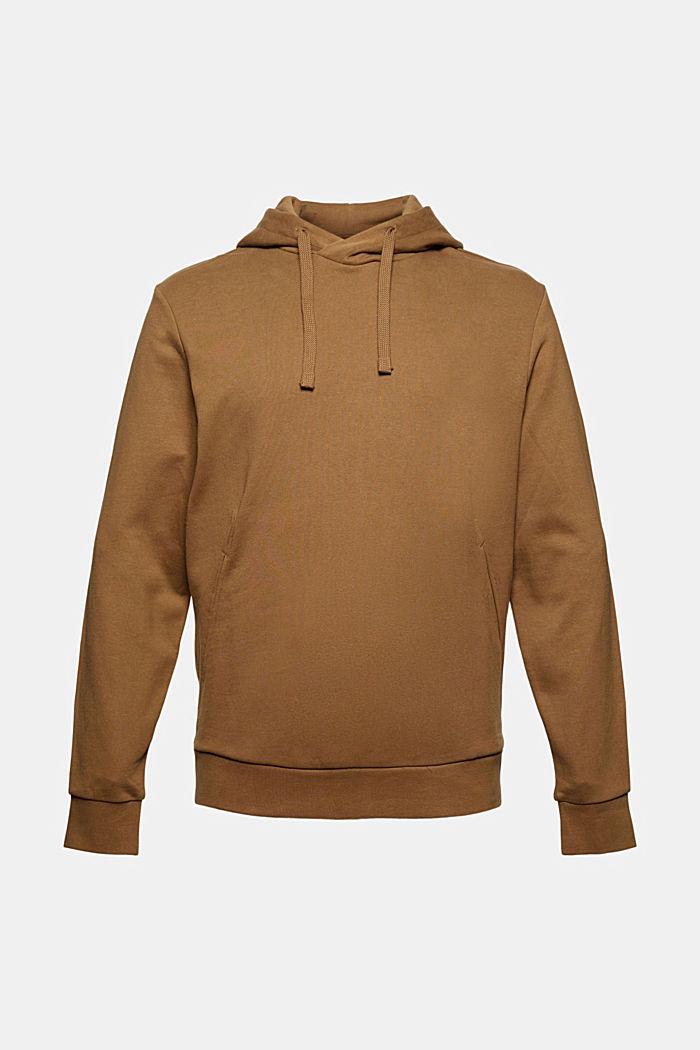 Sweat à capuche en coton mélangé à teneur en TENCEL™, BARK, detail image number 6