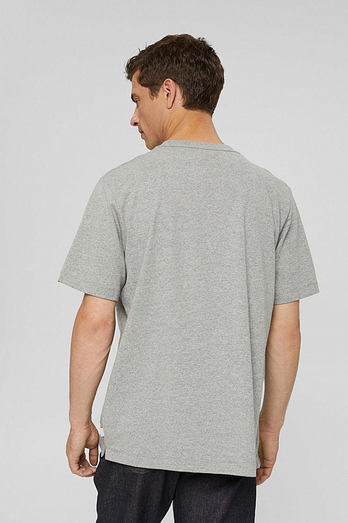 Jersey T-shirt with a pocket, organic cotton, MEDIUM GREY, detail image number 3