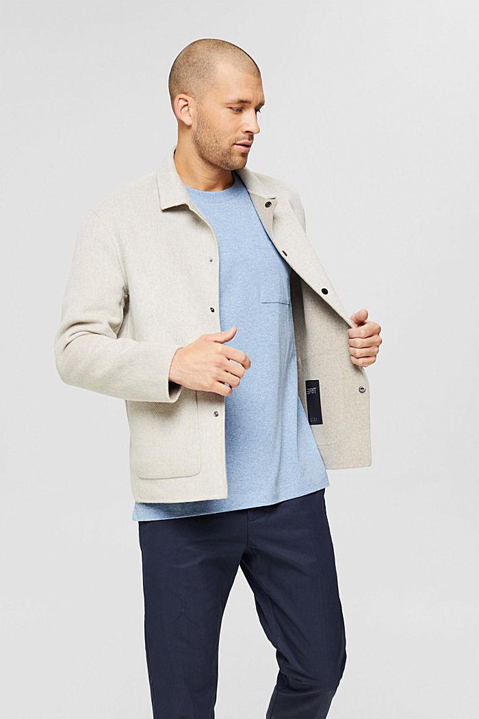 Haut en jersey doté d'une poche, coton biologique