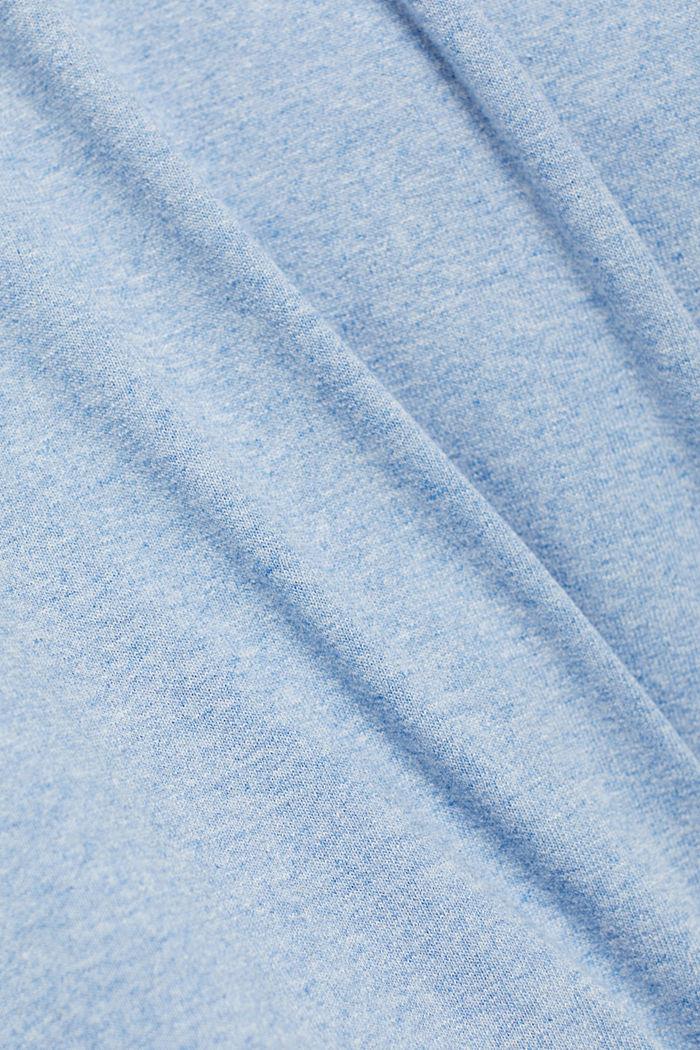Haut en jersey doté d'une poche, coton biologique, PASTEL BLUE, detail image number 5