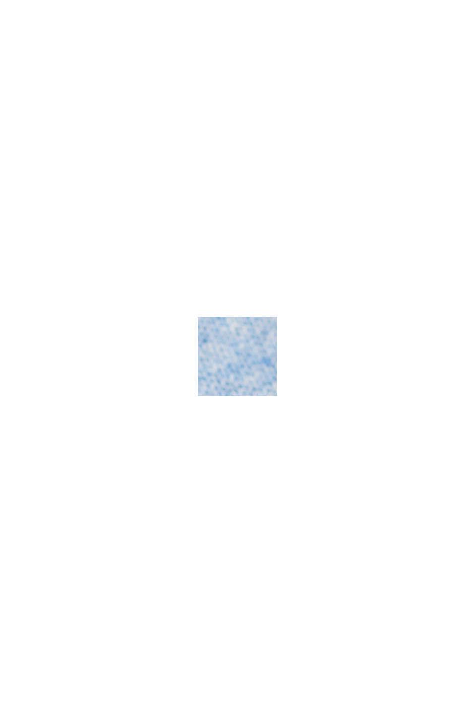 Haut en jersey doté d'une poche, coton biologique, PASTEL BLUE, swatch