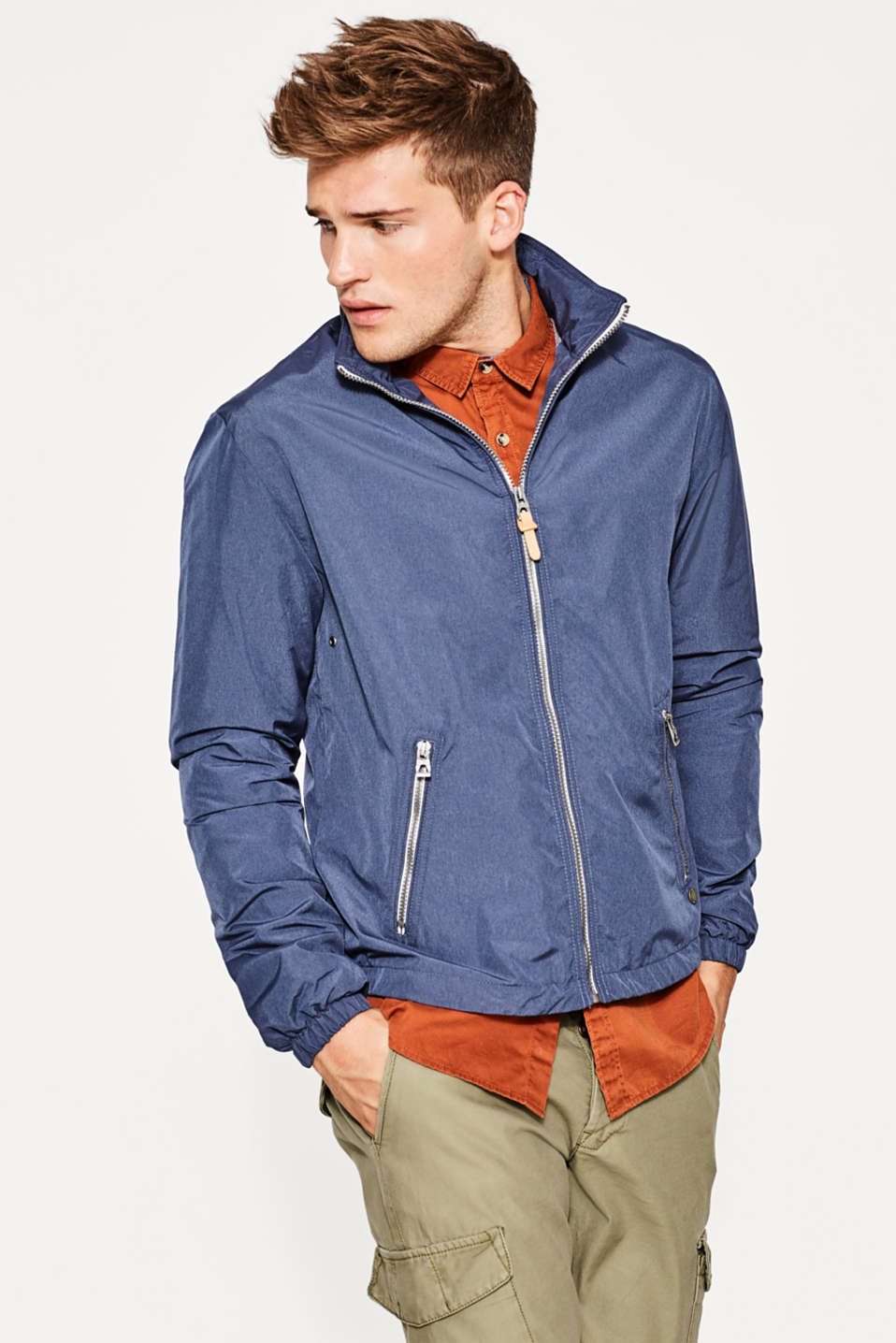 edc - Sporty hooded windcheater