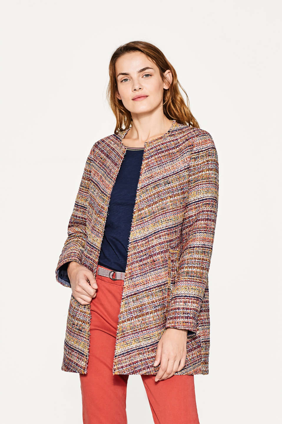 Esprit - Indoor-Mantel im Multicolour-Look