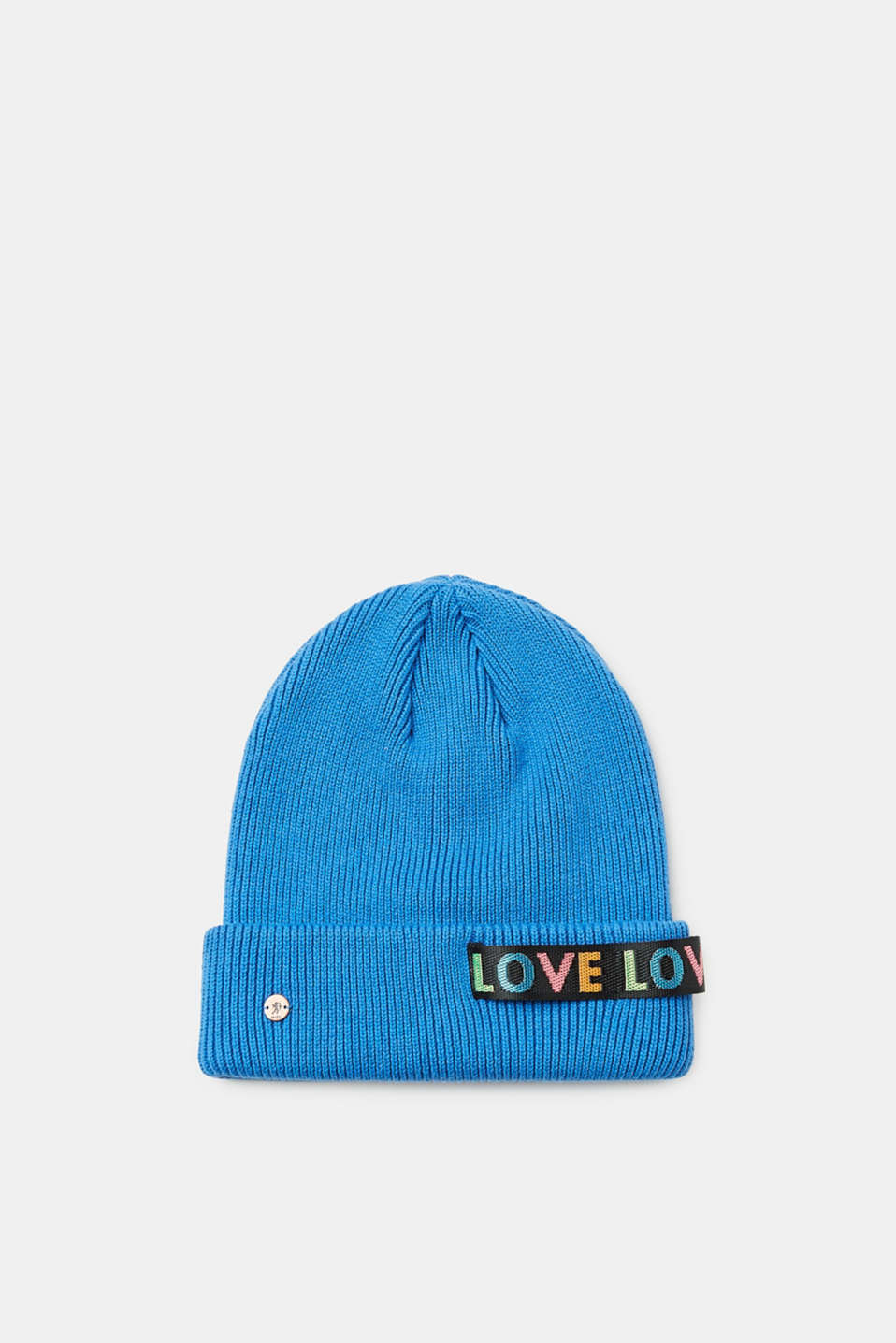 edc - Knitted beanie in 100% cotton