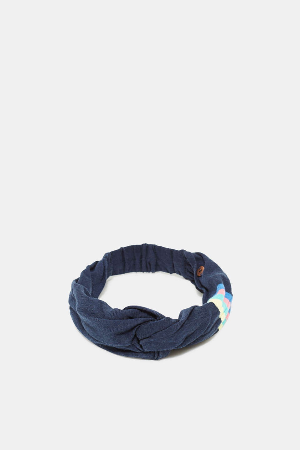 edc - Headband with a knot detail, 100% cotton