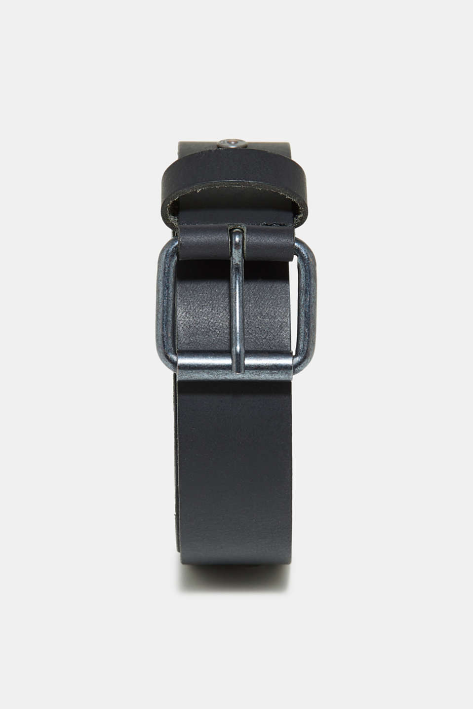 edc - Leather belt in a monochrome look