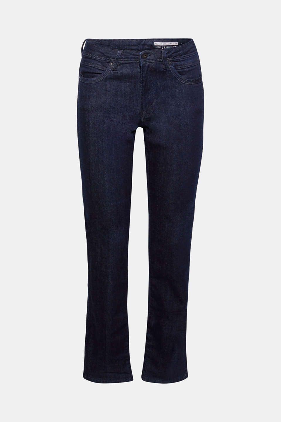 Definitive denim: these stretch jeans with a dark garment wash are a particularly versatile basic for all occasions!