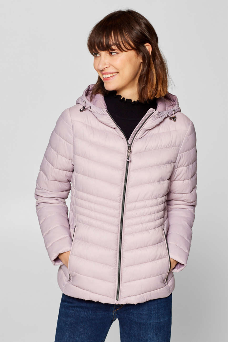 edc - Quilted jacket with 3M® Thinsulate filling