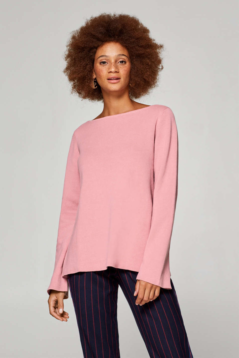 edc - Loose jumper in 100% cotton