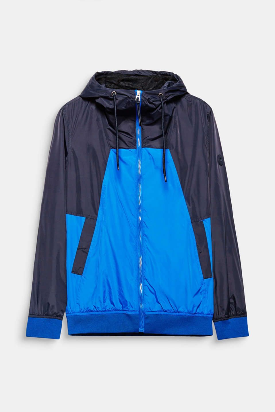 This rain jacket will keep you perfectly dressed between seasons.