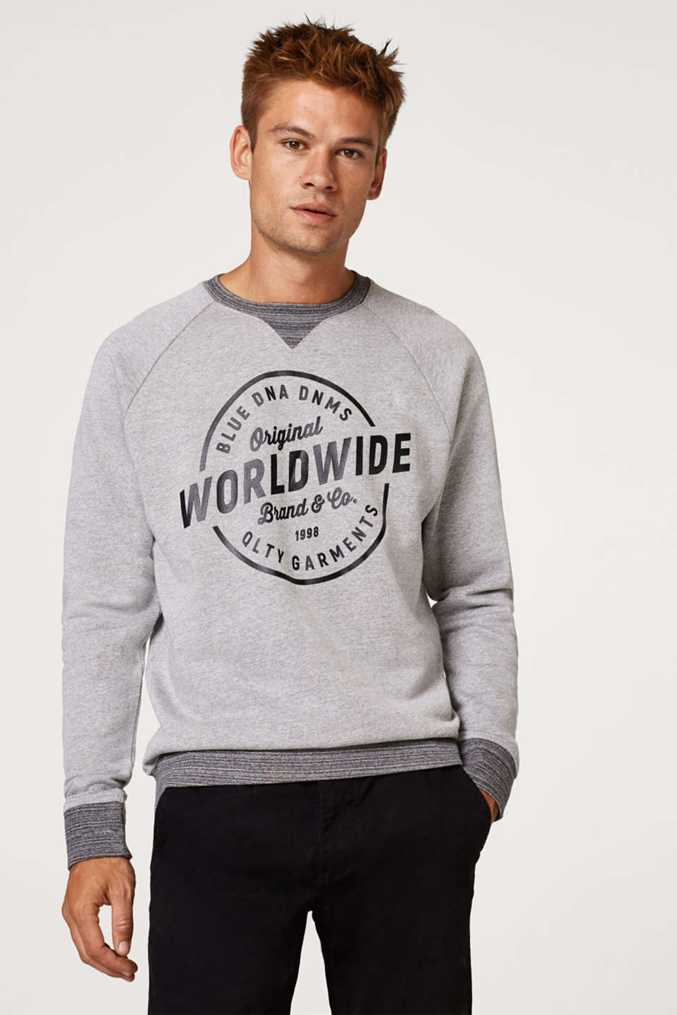 edc - Logo print sweatshirt, 100% cotton