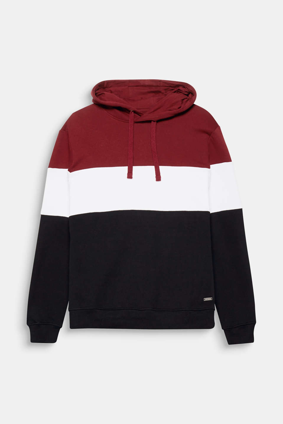 Colour up! This sporty hoodie with a colour block design will become a favourite piece you can wear with anything.
