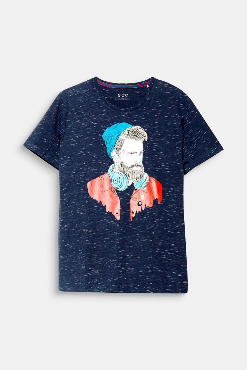 Hip edc illustrations are practically a cult classic! This bold print makes this T-shirt one of a kind.