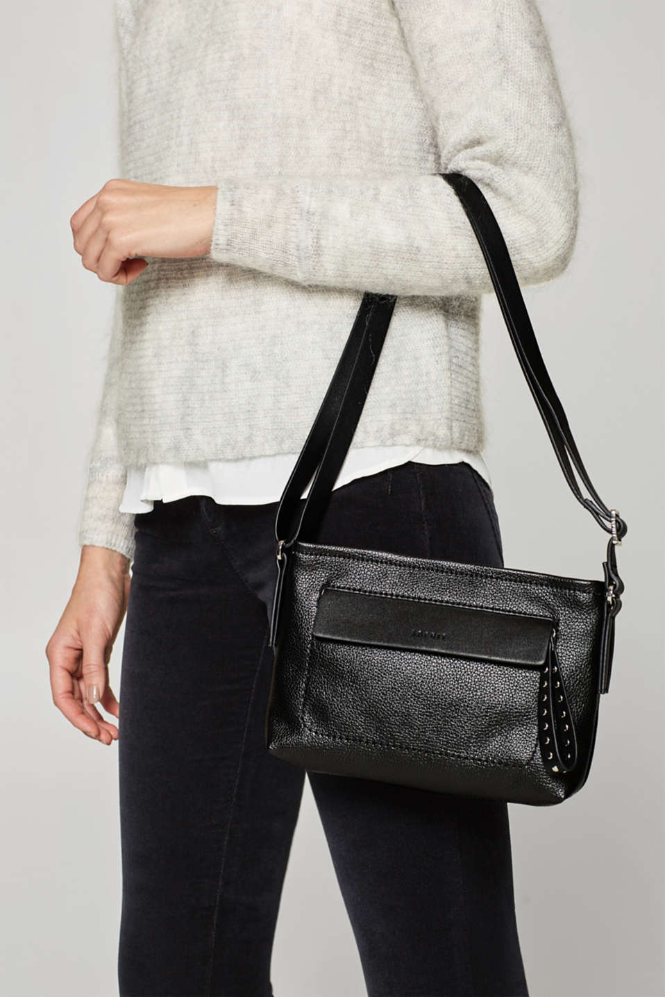 Small shoulder bag with stud details