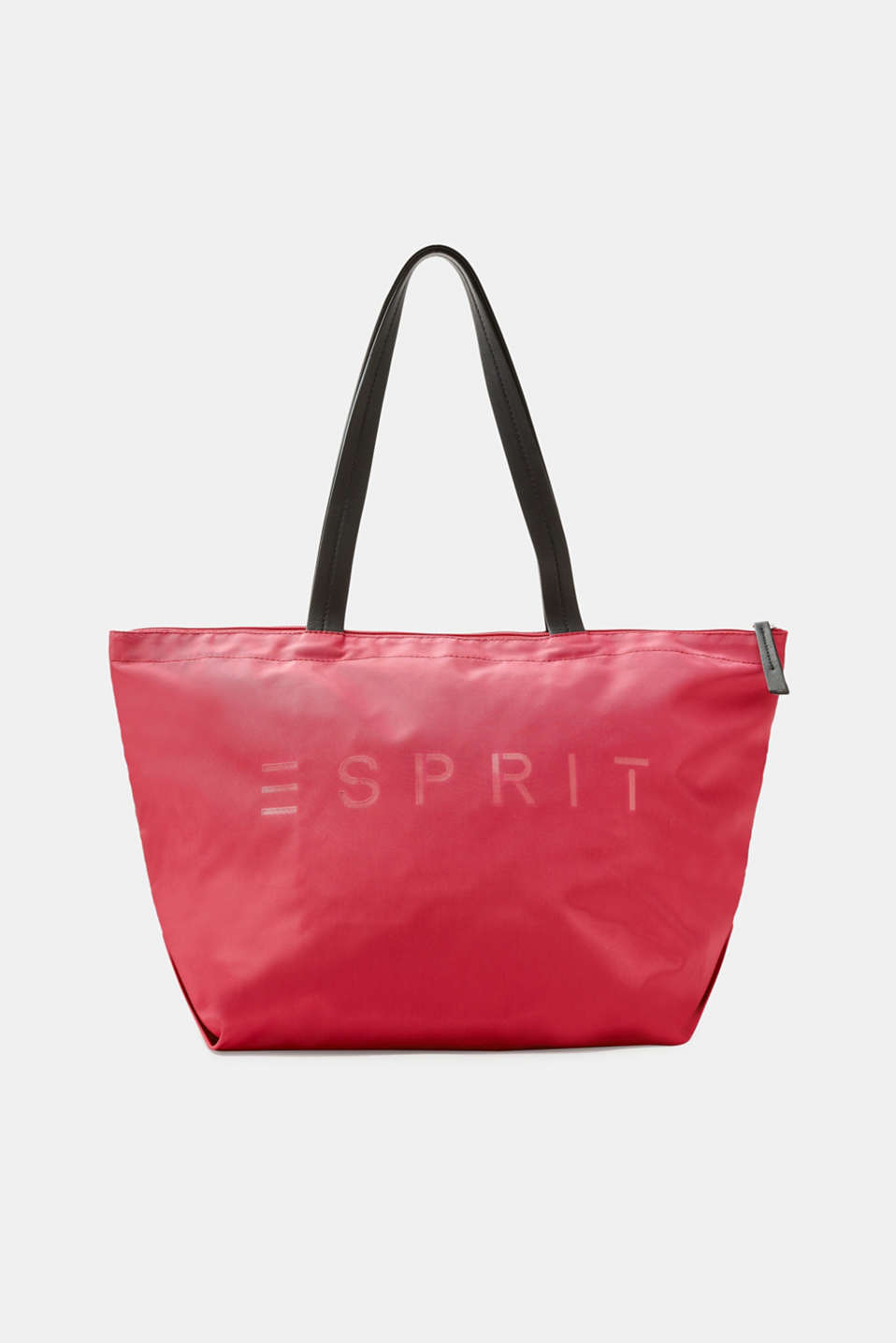 Esprit - Shopper bag with a logo print, in nylon