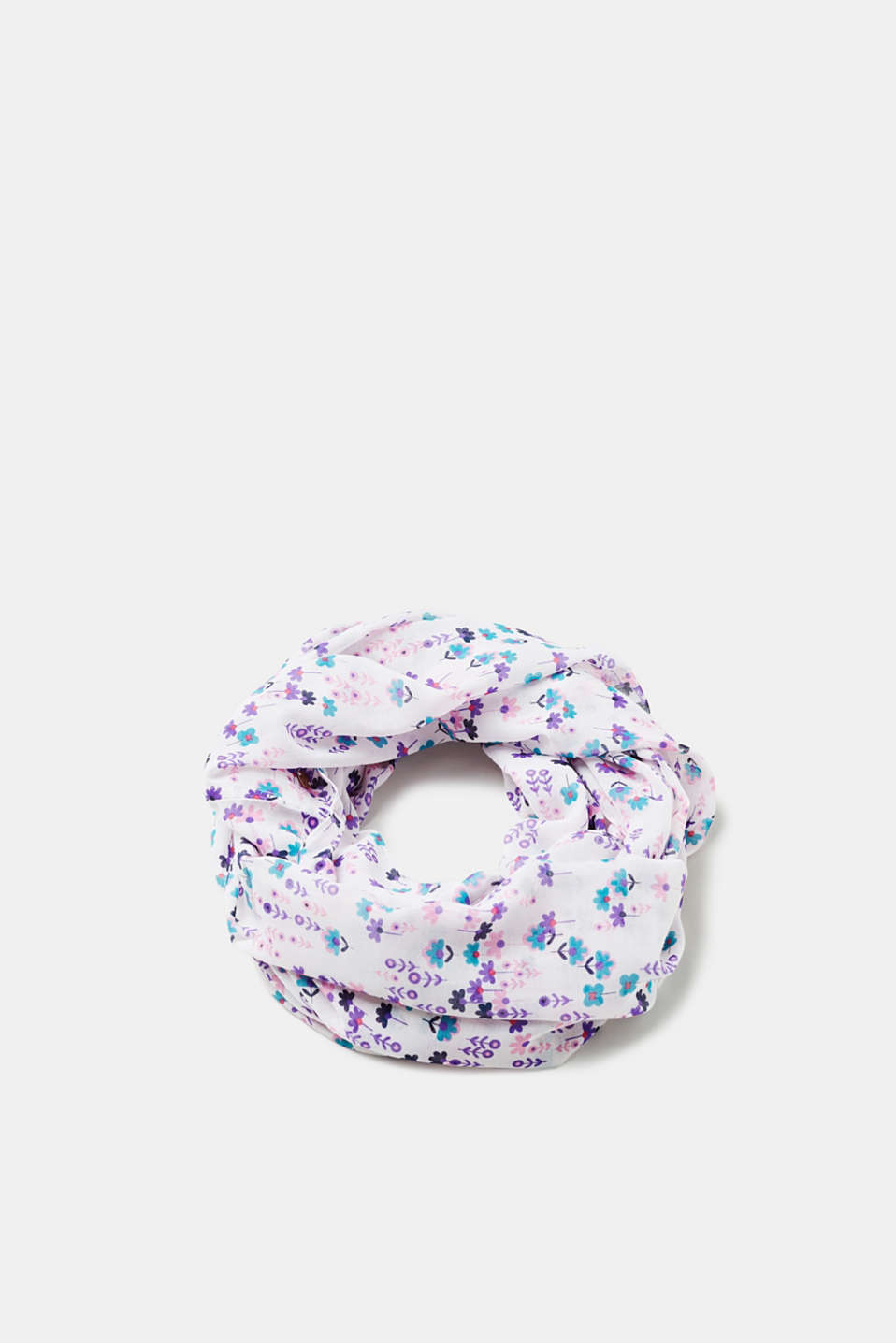 Esprit - Snood with floral print