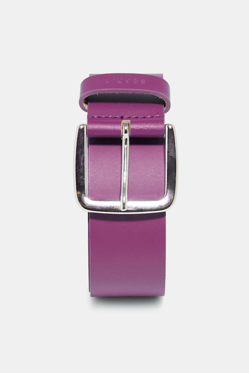 Esprit - Wide belt in trend colours, in leather