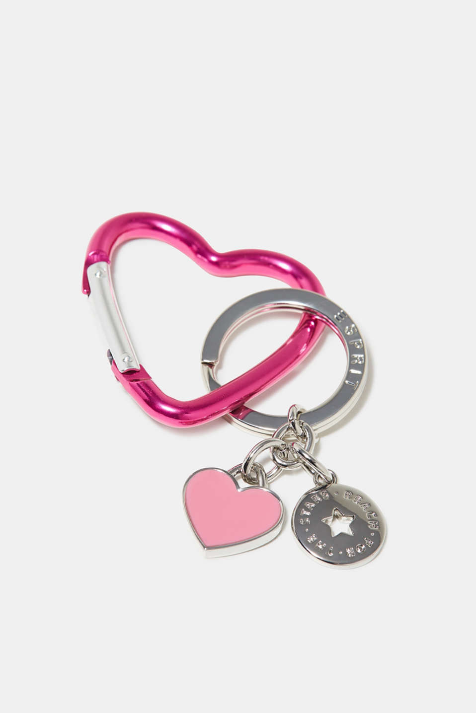 Esprit - Key ring with heart motifs