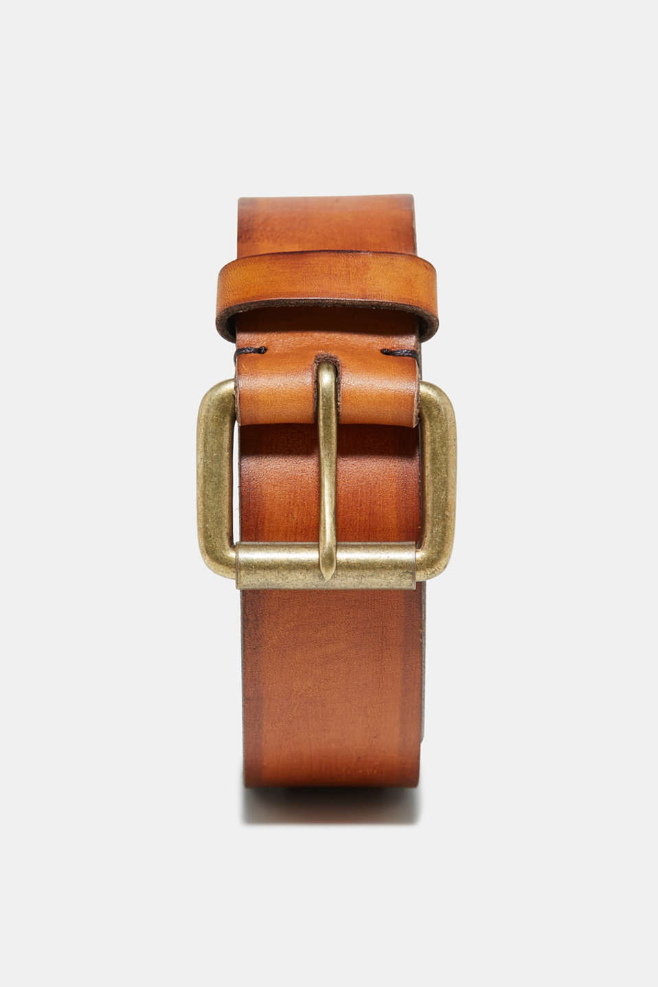 Esprit - Leather belt with a distinctive grain