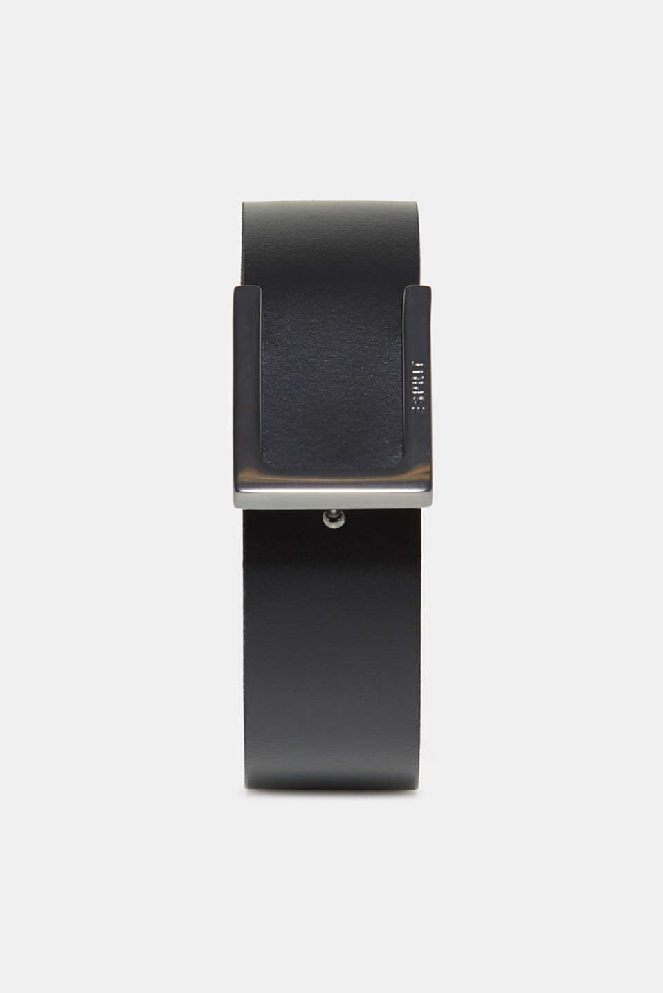 Esprit - Clip fastener leather belt