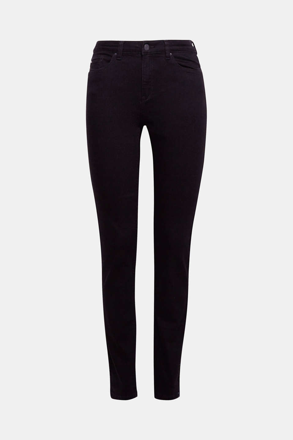 We love these black stretch jeans because they are so versatile to mix and match and are very supple thanks to the percentage of stretch.