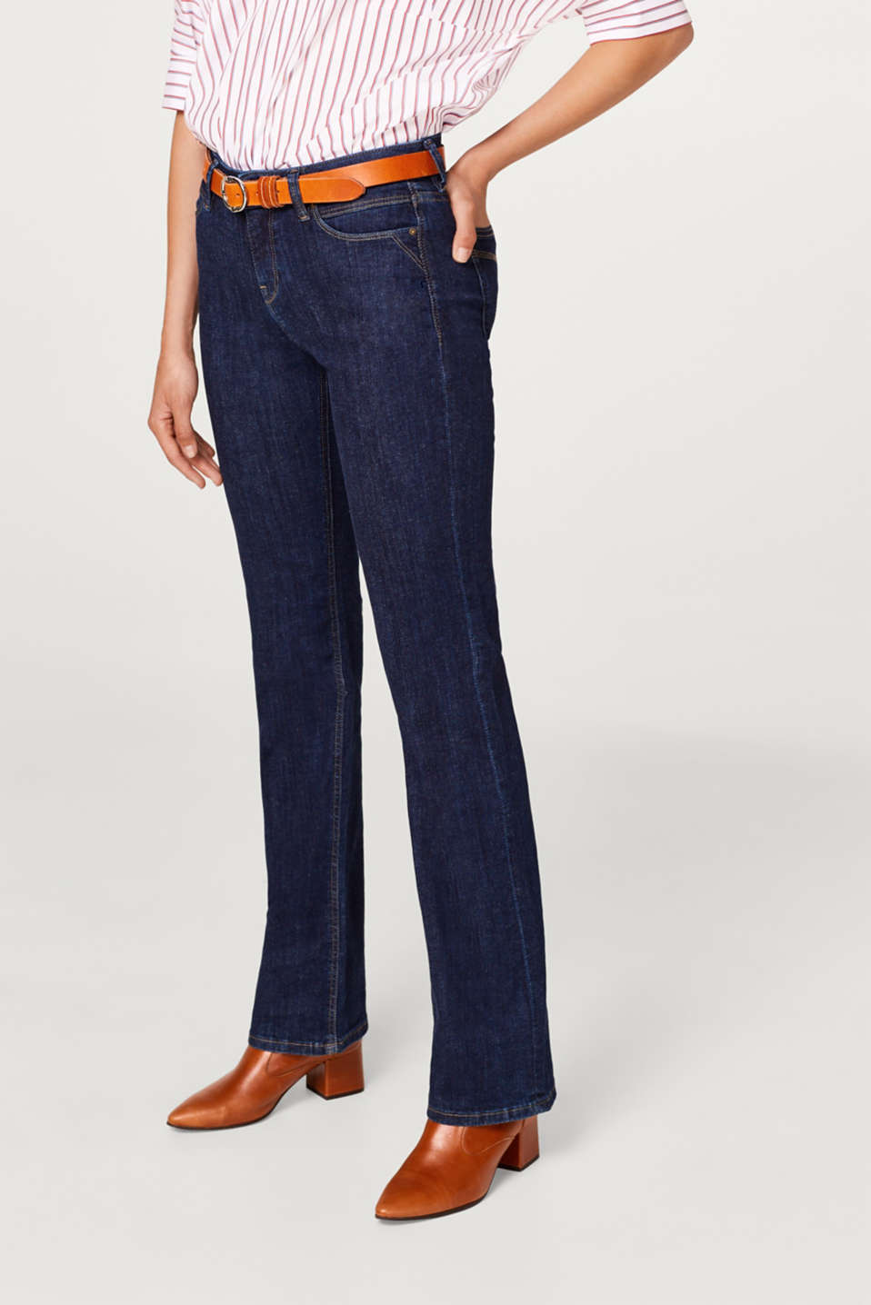 Esprit - Superstretch-Jeans mit Bootcut