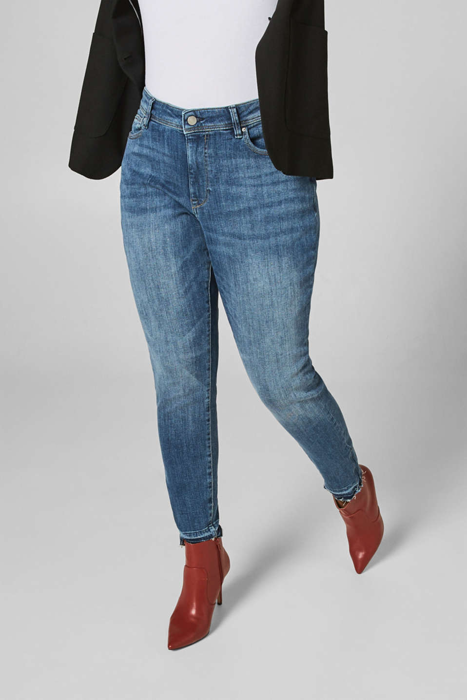 jeans dragkedja benslut