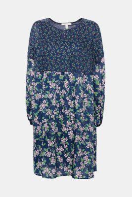 Esprit kleid blau floral