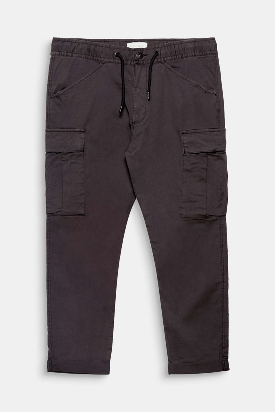 These tracksuit bottoms get their casual look thanks to the stretchy drawstring waistband and patch cargo pockets.
