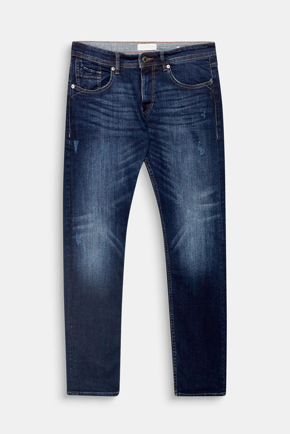 Super stretch comfort a and the authentic vintage finish make these five-pocket jeans a denim favourite.