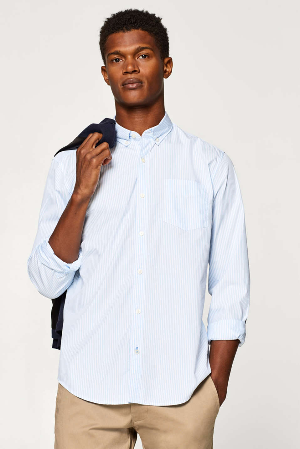 Esprit - Button-Down-Hemd mit COOLMAX®