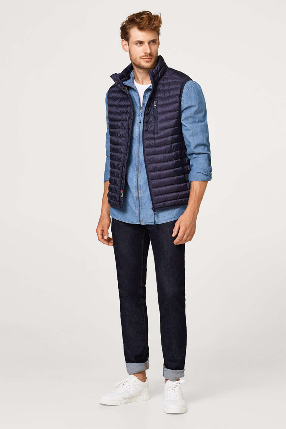 Quilted gilet with Thinsulate filling