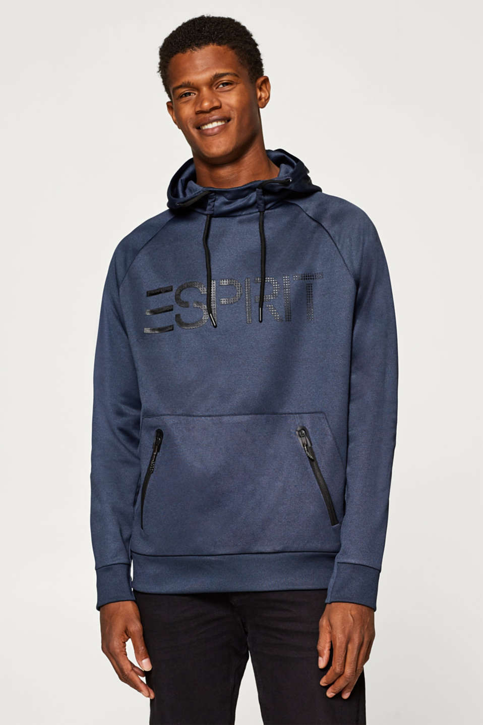 Esprit - Hoodie with a logo print