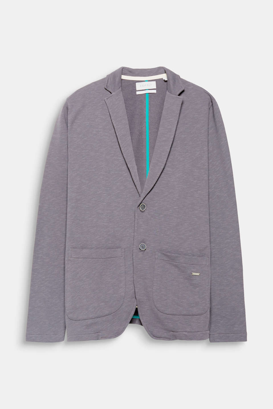 Wonderfully casual! This blazer combines the classic style of a blazer with sporty jersey fabric.