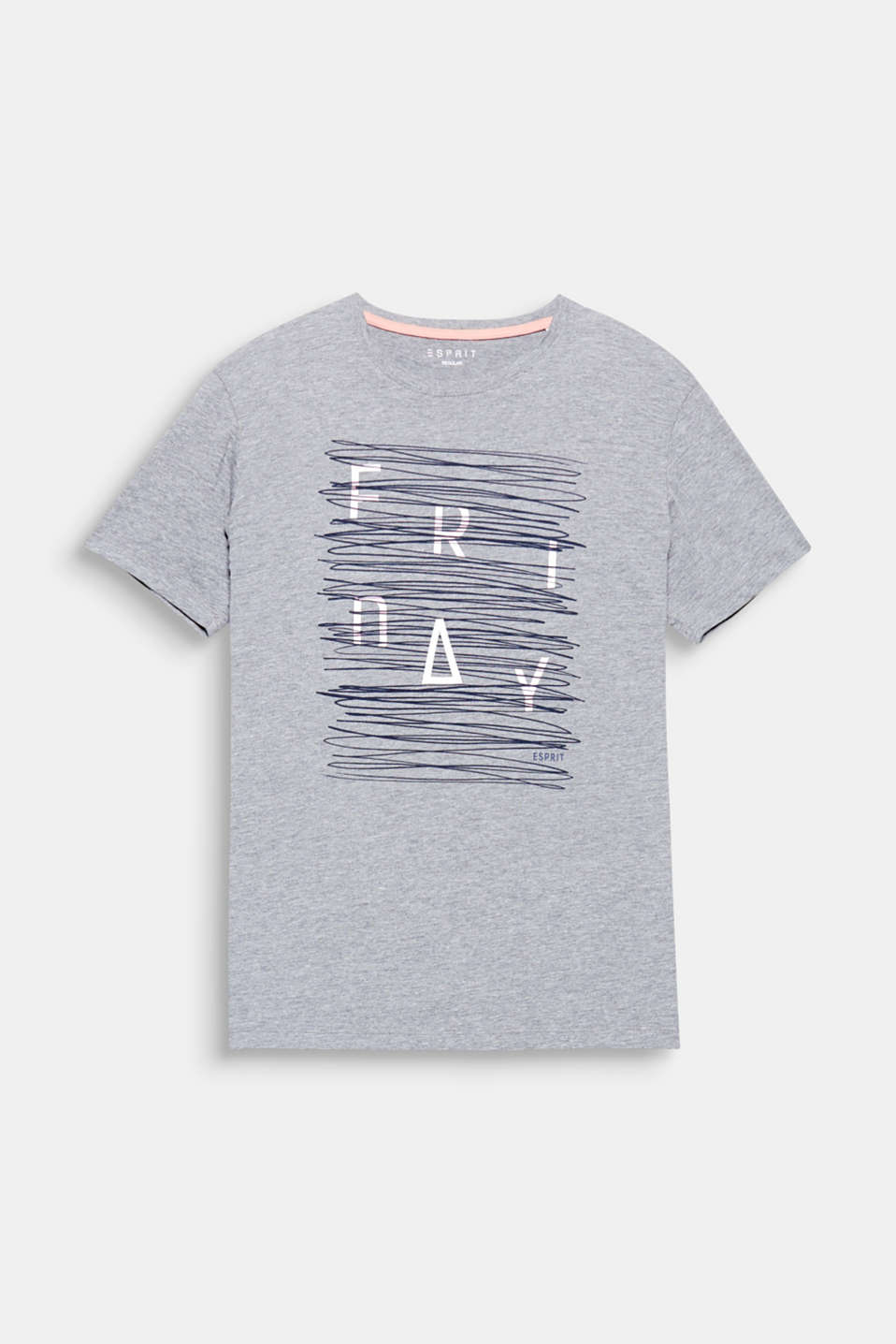Friday! The stylised printed lettering adds modern style to this T-shirt.