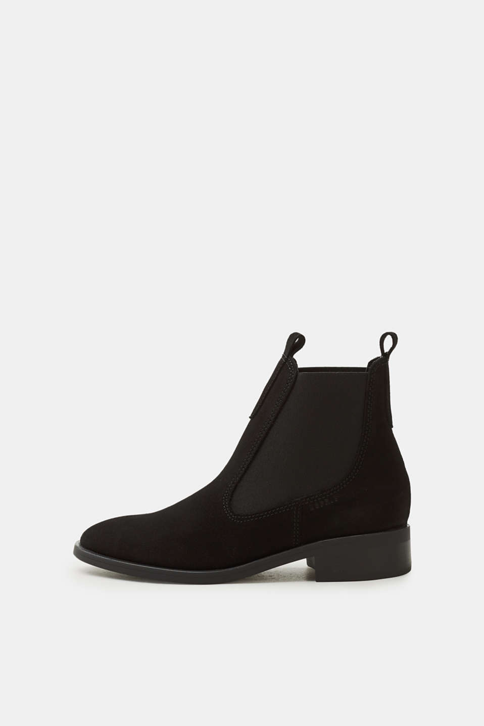 A classic - perfect for transitional wear! The rubberised outsole and suede leather make these Chelsea boots the perfect essential for your look.