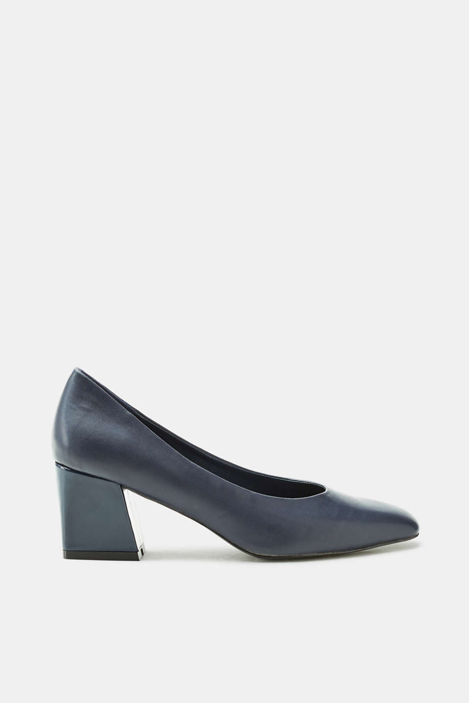 Esprit - Court shoes with a block heel