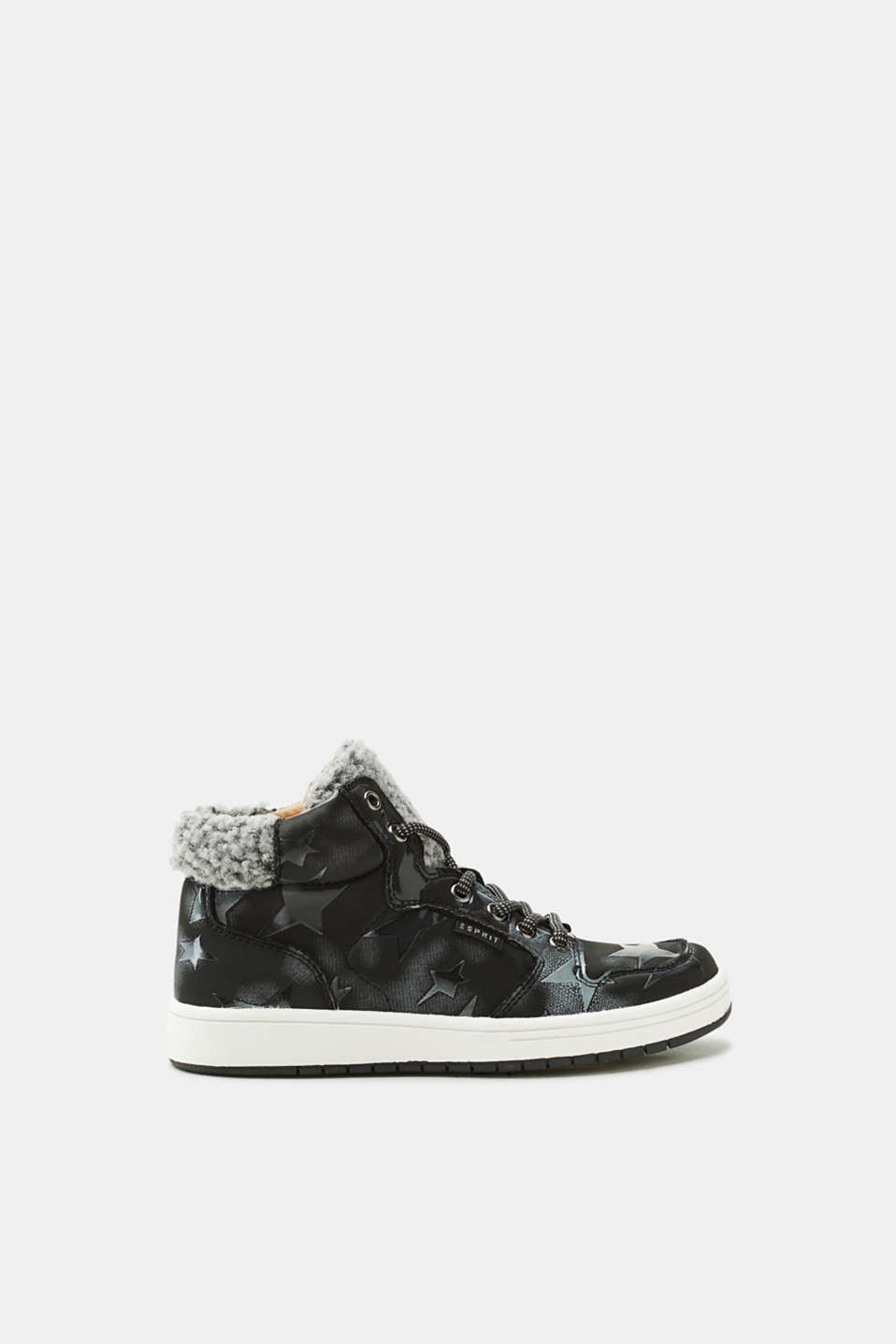 Esprit - High-top trainers with stars