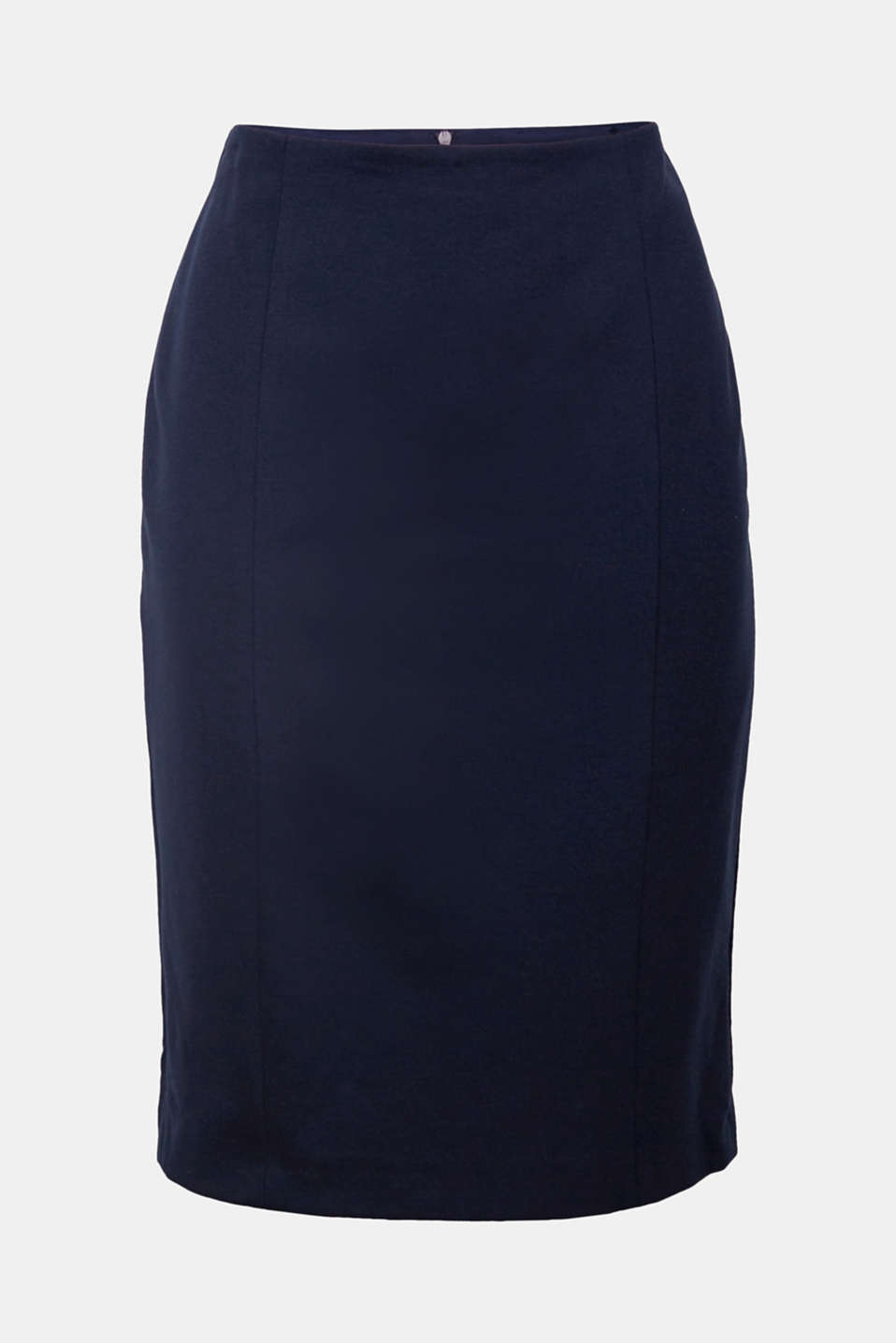 Simple, sensational, shaping: this pencil skirt in stretch jersey settles sensuously around the body and is an absolute classic!
